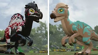 LEGO Jurassic World - Pachycephalosaurus Unlock Location + Gameplay (Skeleton & Custom Dinosaur)