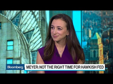 BofA's Meyer Says Now Is Not the Right Time for Fed to Be Hawkish