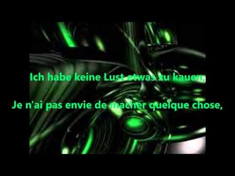 Rammstein - Keine Lust [Lyrics + Traduction Française]