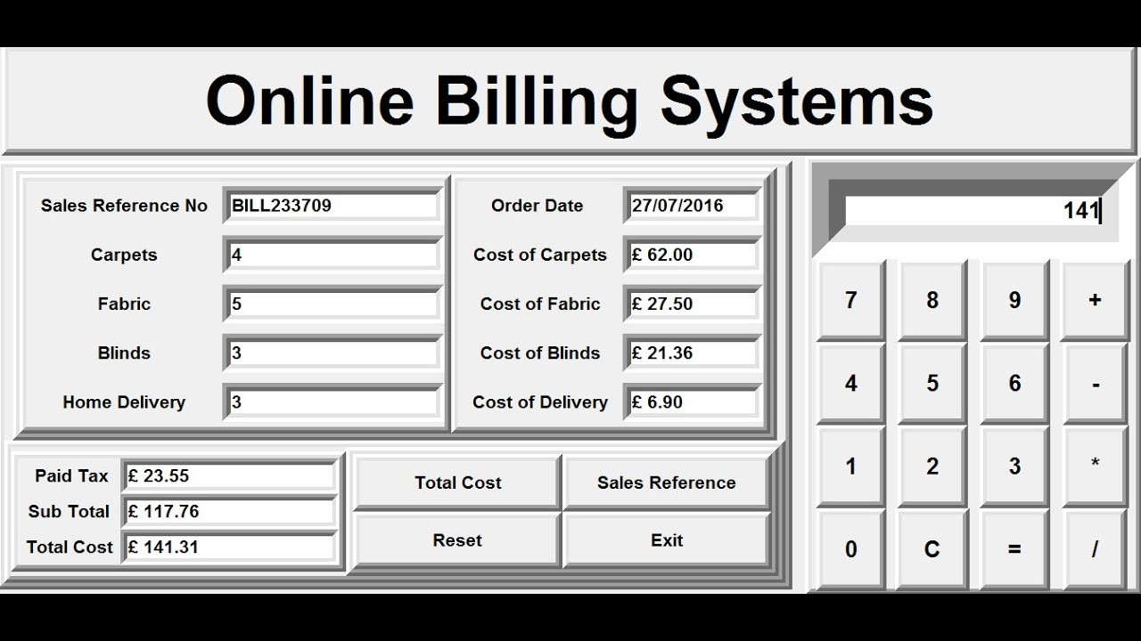 Modern Retail and Restaurant POS Billing Software