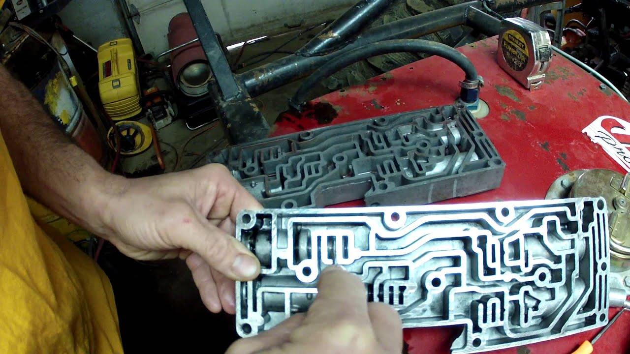 4r100 valve body Accumulator YouTube