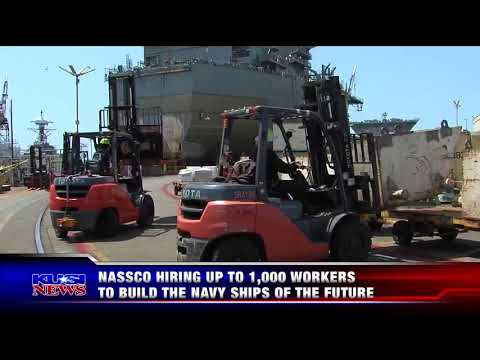 KUSI-SD: NASSCO Teams Up With City College to Fill Shipbuilding Jobs