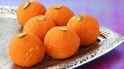 Homemade Motichoor Laddu Recipe for Diwali Festival - Special Ladoo Recipe - Indian Sweet Recipe