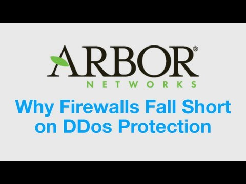 Do Firewalls Protect Against DDoS Attacks? | Arbor Networks