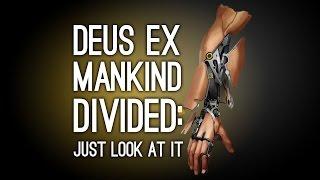 Deus Ex: Mankind Divided Looks Meaner, Cooler, Uncannier
