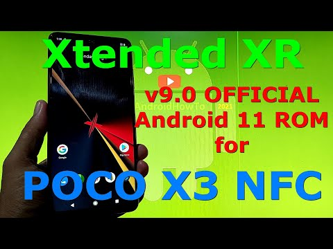 Xtended XR v9.0 OFFICIAL for Poco X3 NFC (Surya)