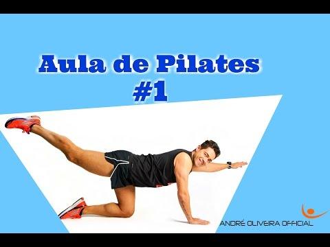 Aula de Pilates #1 - Alongamentos e Flexibilidade - www.andreoliveira-official.com
