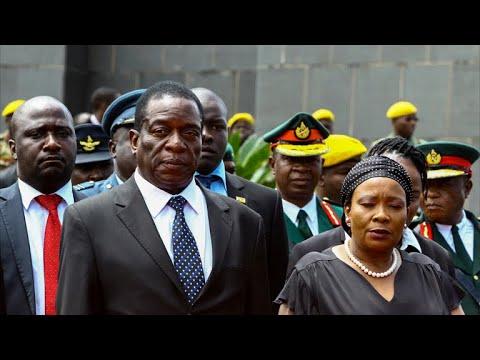 Who is Emmerson Mnangagwa
