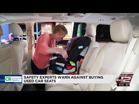 Think twice before buying used car seats