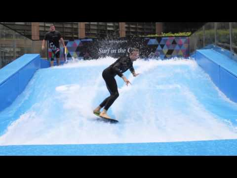 Surf in the City at Broadate City of London