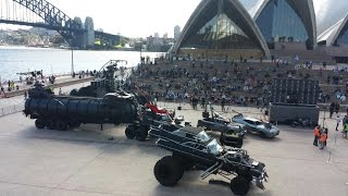 vuclip MadMax 4 Fury Road live display at Sydney Opera House 13 May 2015