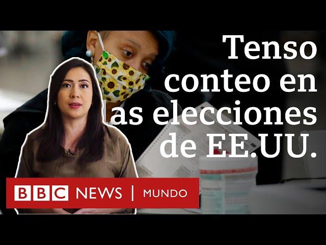 Cómo se cuentan los votos en Estados Unidos y por qué se está tardando tanto | BBC Mundo