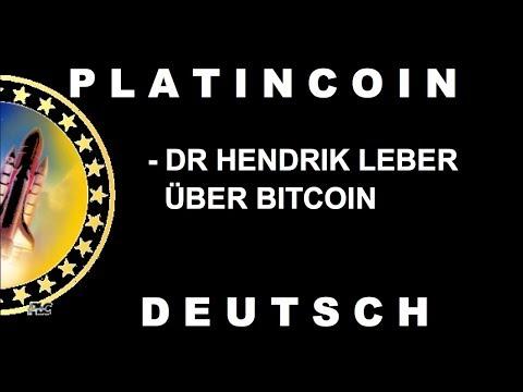 PLATINCOIN Dr Hendrik Leber über Bitcoin NTV | deutsch [PLC GROUP]