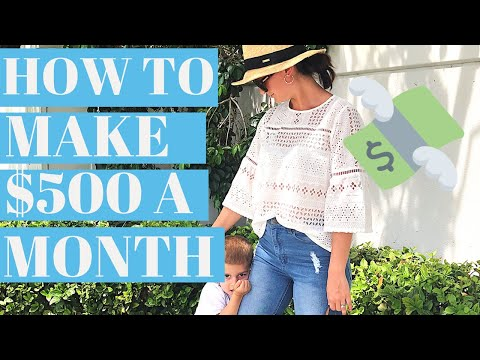 WORK FROM HOME JOB (eBay) HOW I MAKE $500 A MONTH 2019