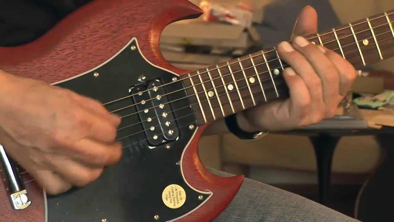 2009 gibson sg special worn cherry part1 youtube. Black Bedroom Furniture Sets. Home Design Ideas