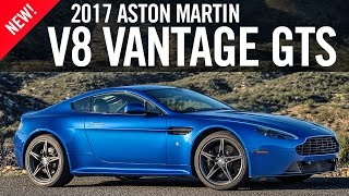 2017 Aston Martin V8 Vantage GTS First Drive Review