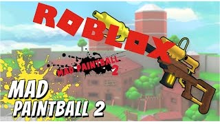 Mad Paindball//finished a killer//Roblox 1. ep
