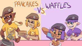 Splatoon 2 - Private Lobby - (Pancakes Vs Waffles Pancake KING)