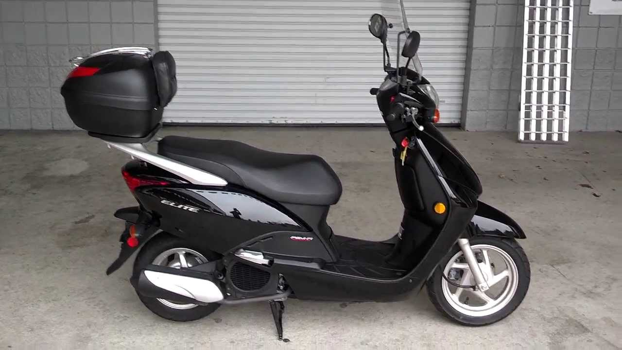 used 2010 honda elite 110 scooter for sale at honda of chattanooga tn ga al scooters youtube. Black Bedroom Furniture Sets. Home Design Ideas