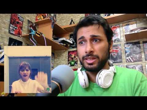 RINA NOSE nyanyi lagu india ( Chaiya Chaiya) | Reaction