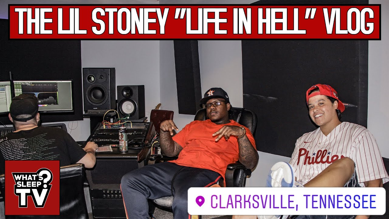 """Lil Stoney Might Name His New Project """"Life In Hell"""" + Talks Shooting His Shot At JaTesa"""