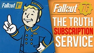 The Real Reason Bethesda Added a Subscription Service to Fallout 76
