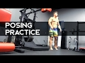 Tips To Look Bigger On Stage | Posing Practice | Ep. 17
