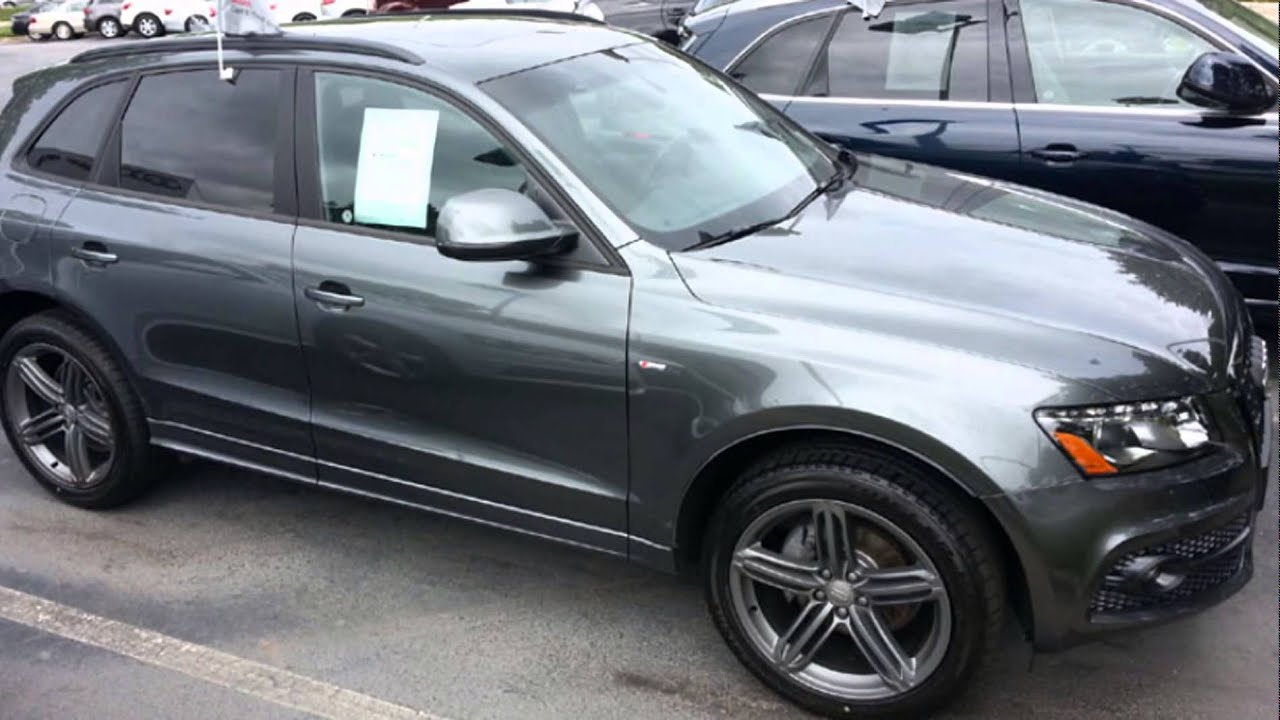 2016 Audi Q3 Monsoon Gray Metallic Youtube
