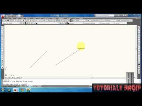 Tutorial 2 Autocad 2D Shqip (ortho,polar...