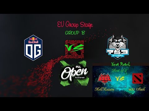 [DOTA 2 LIVE] OG vs SFT - PGL Minor - Main Qualifier Group
