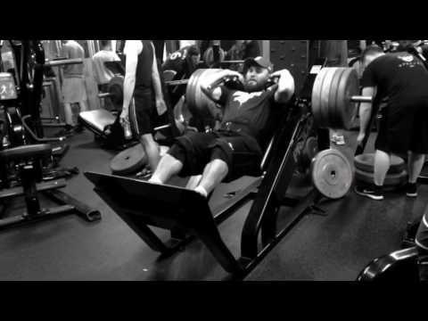 Daniel Stisen, Hack-Lift, Leg Day, 4 Days Routine, Nov 2016