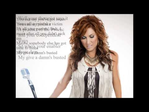 Jo Dee messina My Give a Damn's Busted lyrics