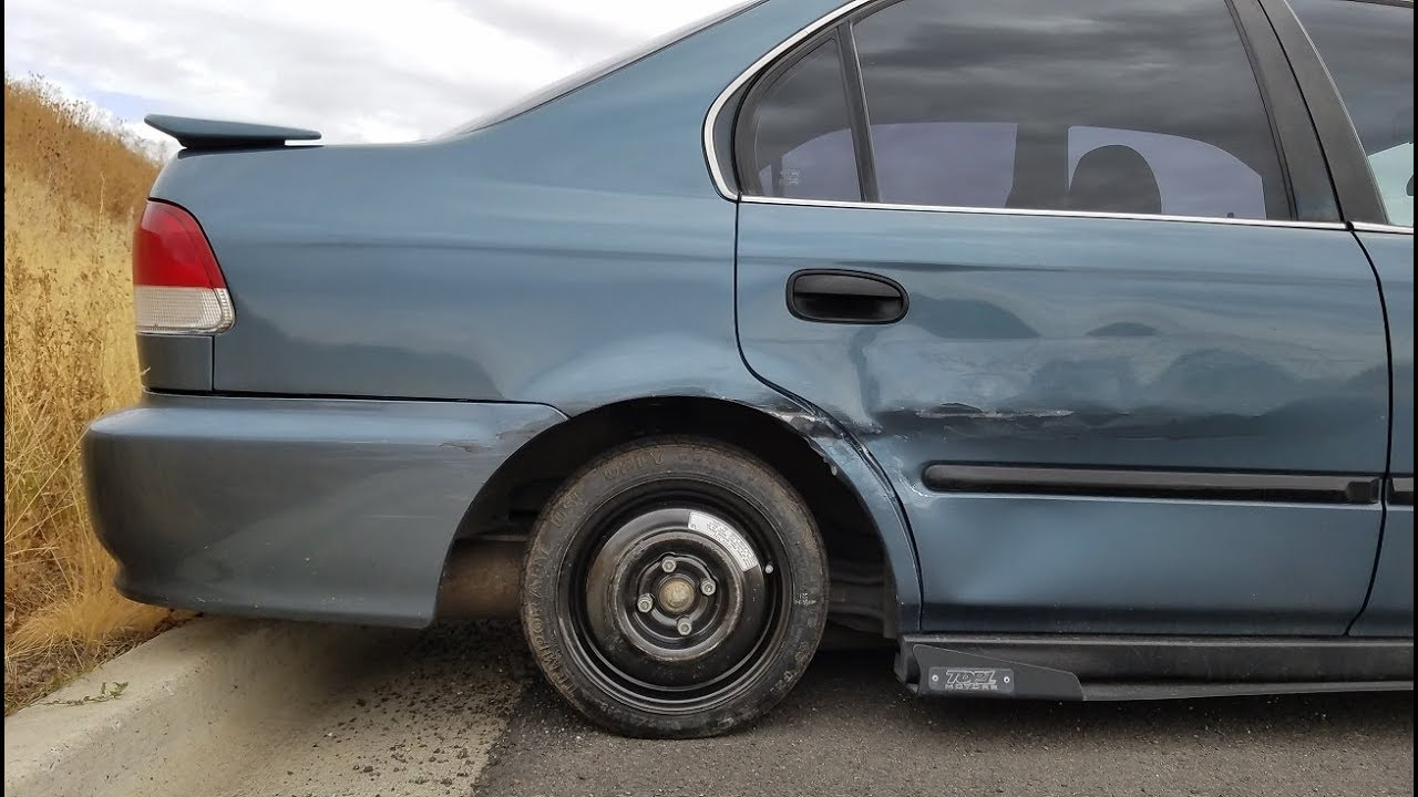Psr 1996 Honda Civic T Boned And Possibly Totaled