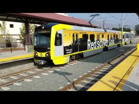 Monrovia train station.