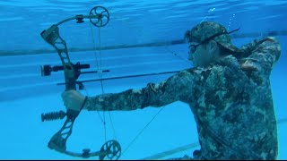 Underwater Shooting, you won't believe what happens next.