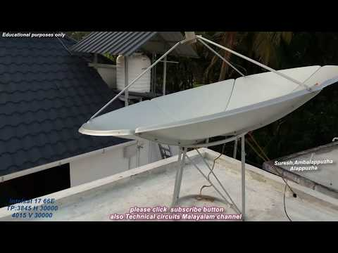 Intelsat 17 66E satellite installation with dual out LNB