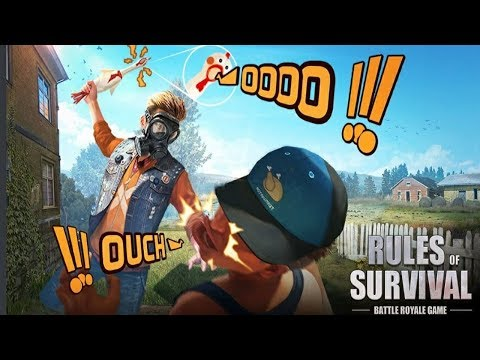 💀RULES OF SURVIVAL #31 | SOLO VS SQUAD! SERÁ QUE NOIS GANHA?
