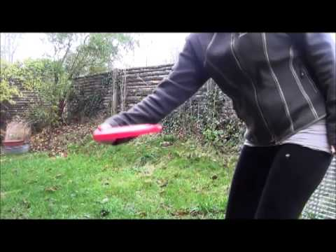 Frisbee trick - How to teach you dog back vault