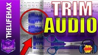 Audacity: How to Trim audio in audacity - Trim audio using audacity - #Audacity Trim Tutorial