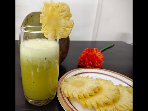 2 Pineapple Coconut Detox drinks that will help you lose weight