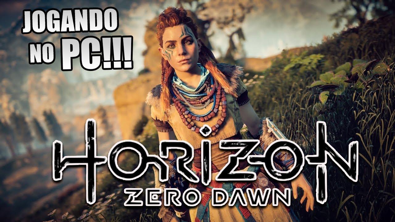 HORIZON ZERO DAWN | JOGANDO NO PC | DUBLADO E LEGENDADO EM PT-BR | AO VIVO
