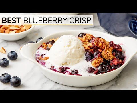 Blueberry-Almond Crisp