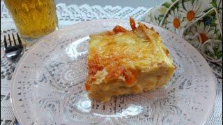 Очень Вкусный Сырный Пирог из Лаваша Быстрый Пирог с Сыром
