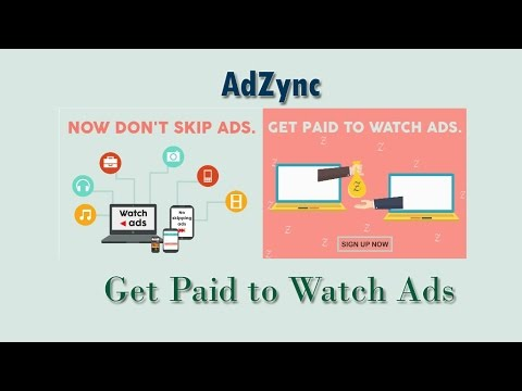 Get paid in cryptocurrency for watching ads