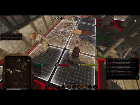 @LifeisFeudal  #MMO Building Freeport's Iron Bank and teaching basic farming