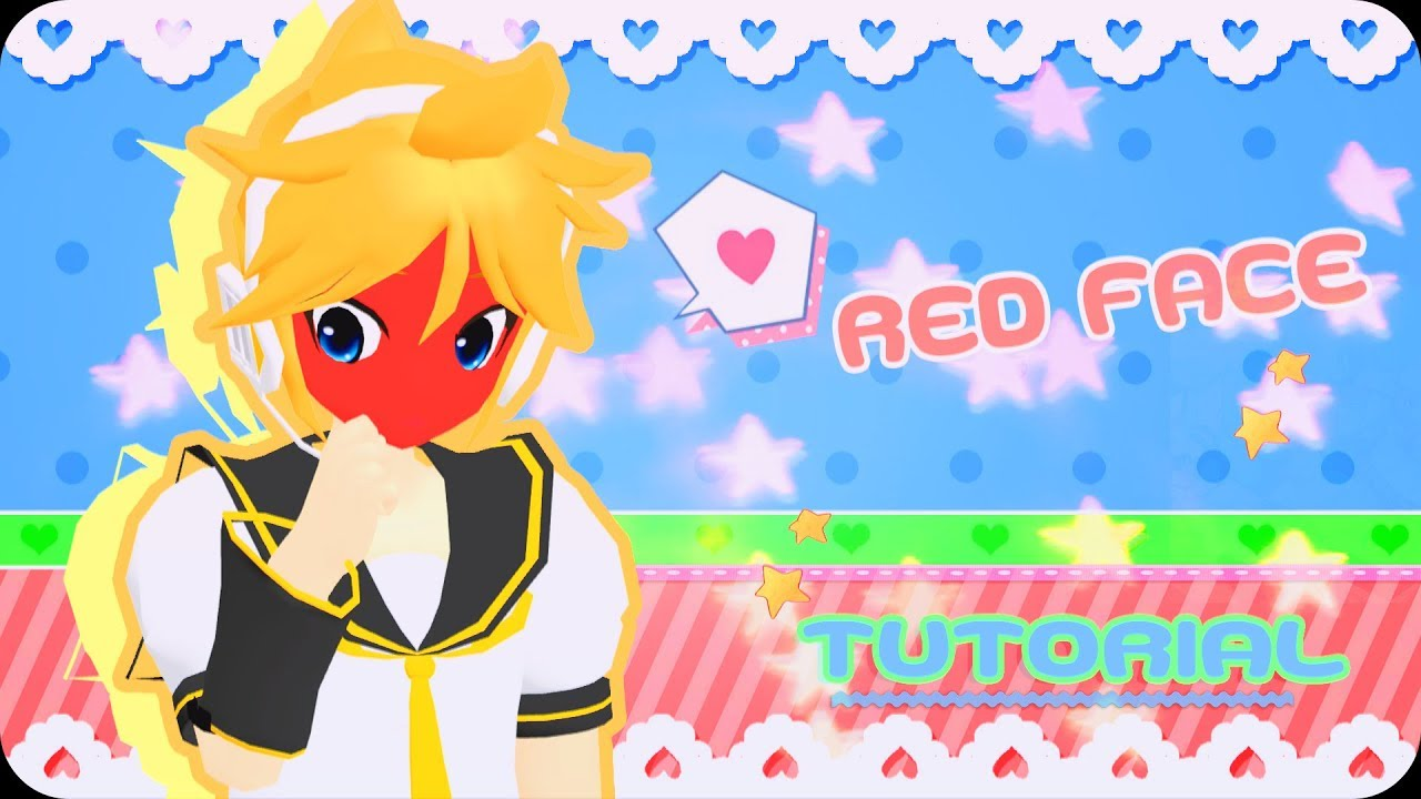【MMD/PMX】 ::✿Red Face✿:: ►•Tutorial•◄