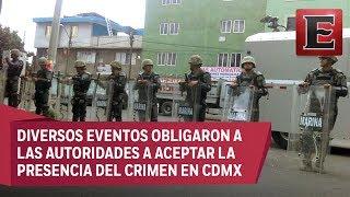 ¿Cómo opera el crimen organizado en la Ciudad de México?