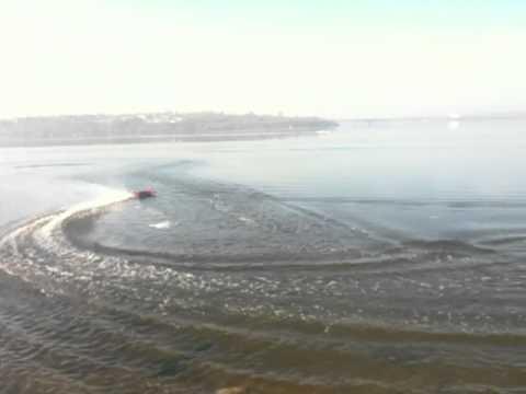 Rc Boat Traxxas Spartan (Николаев 09.11.2012)