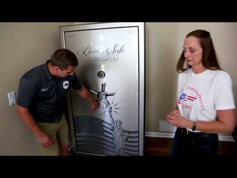 Liberty's 2 Millionth Safe Being Delivered by Nick of Time Moving