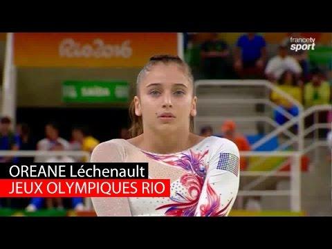 Jeux Olympiques Rio 2016 : Oréane Léchenault